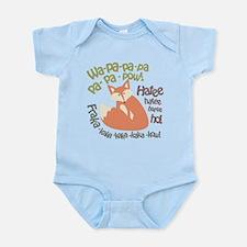 Wa Pow Hatee Ho Fox Infant Bodysuit