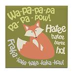 Wa Pow Hatee Ho Fox Tile Coaster