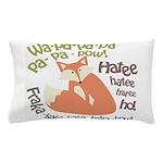 Wa Pow Hatee Ho Fox Pillow Case