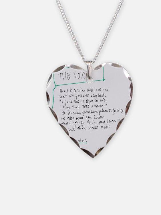 The Voice Necklace