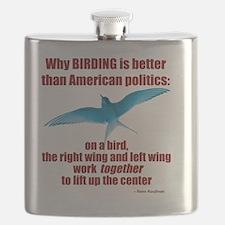 Birding vs. Politics Flask