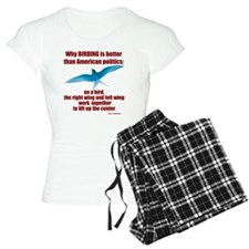 Birding vs. Politics pajamas