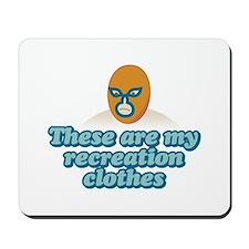 Recreation Clothes Mousepad