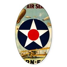 WWII Join the Air Service/Air Force Decal