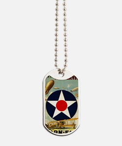 WWII Join the Air Service/Air Force Dog Tags