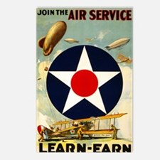 WWII Join the Air Service Postcards (Package of 8)