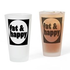 fathappybutton Drinking Glass