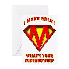 Super Mom2 Greeting Card
