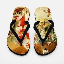 Santa Claus 70_SQ Santa Flip Flops