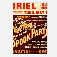 Vintage Halloween Party Postcards (Package of 8)