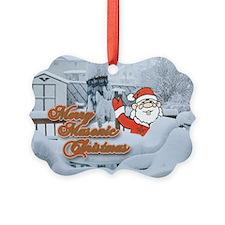Merry Masonic Christmas Ornament