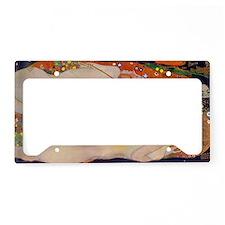 Gustav Klimt Water Serpents License Plate Holder