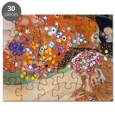 Gustav Klimt Water Serpents Puzzle