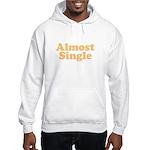 Almost Single Hooded Sweatshirt