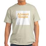 Almost Single Ash Grey T-Shirt