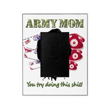 Crazy Army Mom Picture Frame