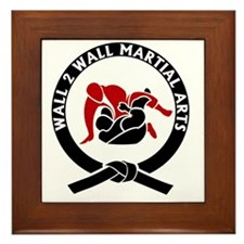 Wall 2 Wall Martial Arts Big Logo Framed Tile