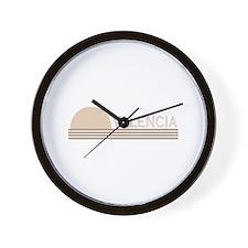 Valencia, Spain Wall Clock