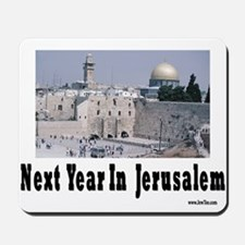 Next Year In Jerusalem Mousepad