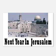 Next Year In Jerusalem Postcards (Package of 8)
