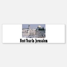 Next Year In Jerusalem Bumper Bumper Bumper Sticker