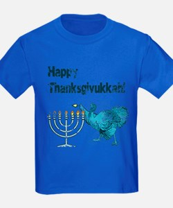 Vintage Happy Thanksukkah T-Shirt