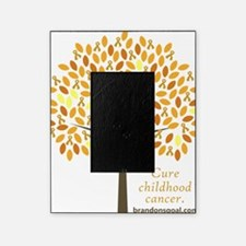 Gold Ribbon Tree Picture Frame