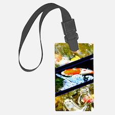 koi fish Luggage Tag