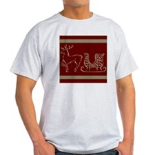 Christmas raindeer gold T-Shirt