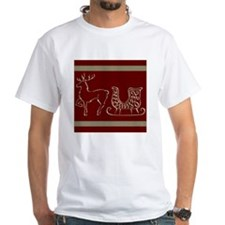 Christmas raindeer gold Shirt