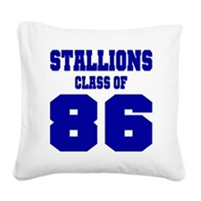 NMHS Class Of 1986 Square Canvas Pillow