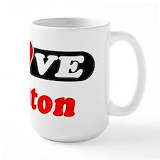 I Love Trenton Mug