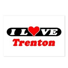 I Love Trenton Postcards (Package of 8)
