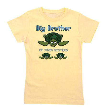 Big Bro Twin Turtle Girl's Tee