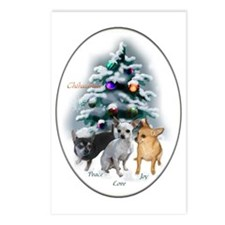 Chihuahua Christmas Postcards (Package of 8)