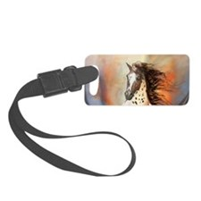 Wild Horse 2 Small Luggage Tag