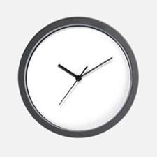 Big Black Sissy Wht Wall Clock