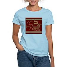 Christmas raindeer gold 2 me T-Shirt