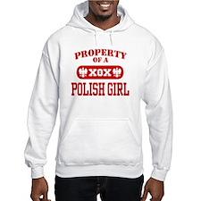 Property of a Polish Girl Hoodie