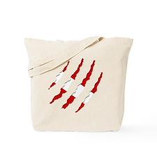 Dive Flag Scratches Tote Bag
