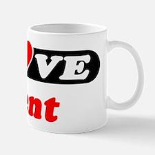 I Love Trent Mug