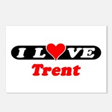 I Love Trent Postcards (Package of 8)