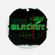 National Blacout! Round Ornament
