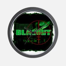 National Blacout! Wall Clock