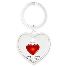 I Heart The Sims Social Forum Heart Keychain