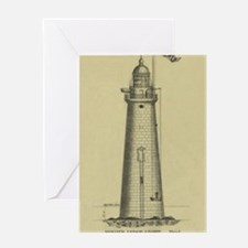 Minot's Ledge Light Greeting Card