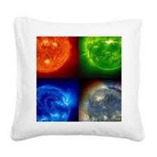 shower_curtain Square Canvas Pillow