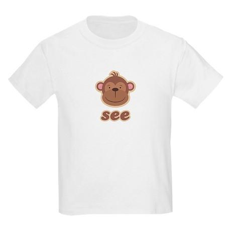 Twin Monkey See Kids T-Shirt