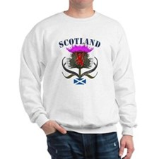 Tartan Scotland thistle lion saltire Sweatshirt
