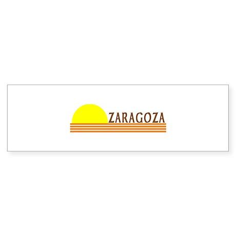 Zaragoza, Spain Bumper Sticker